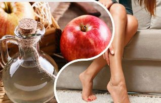 Apple cider vinegar with varicose veins on the feet how ...